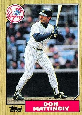 Mattingly - 1987 Front