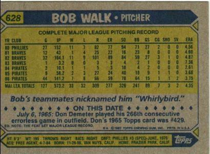 bob walk back
