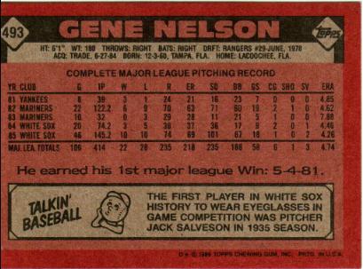 gene nelson back