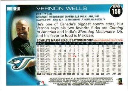 vernon wells back
