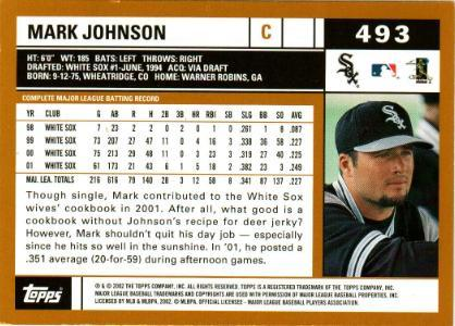 mark johnson back